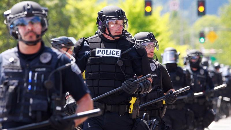 Right-wingers, anti-fascists clash again in Portland