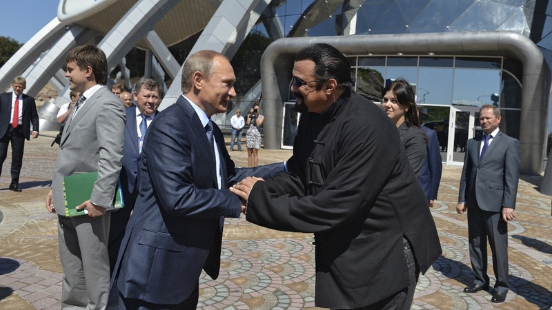 Russia tasks Seagal with improving U.S. ties