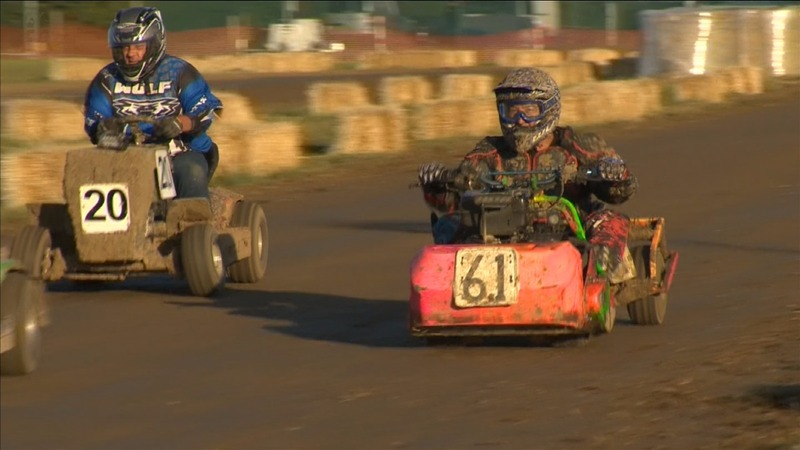 INSIGHT: Grassed lightning! UK lawn mower racing