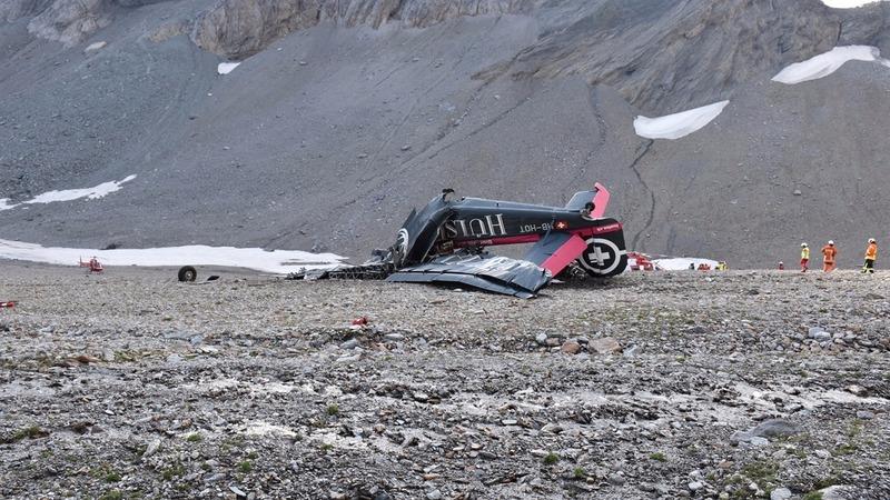 Swiss plane crash kills all on board