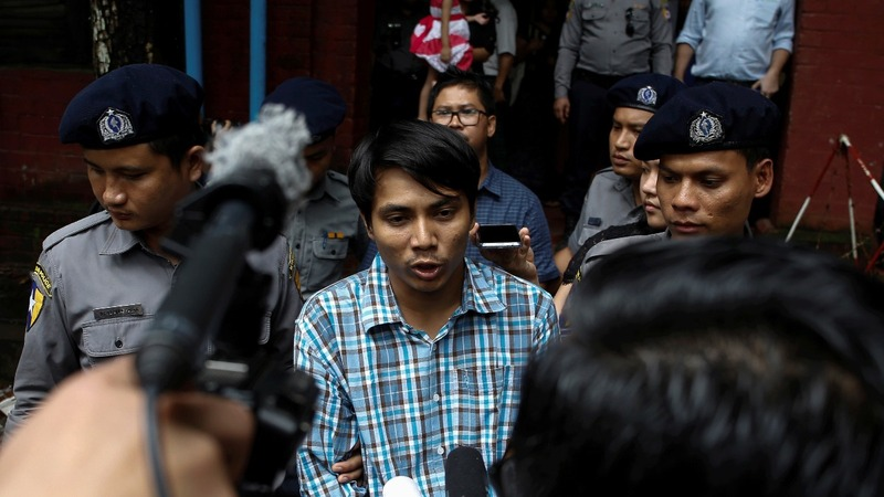 Jailed Reuters reporters await final trial dates