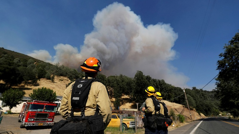 Wildfire becomes largest in California history