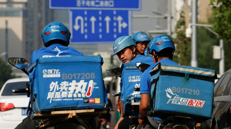Alibaba plans merger for delivery units