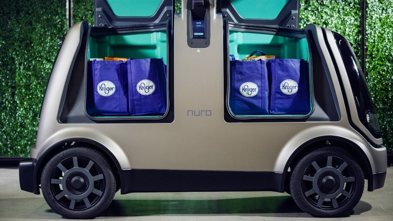 Kroger enlists robots to fight the delivery war