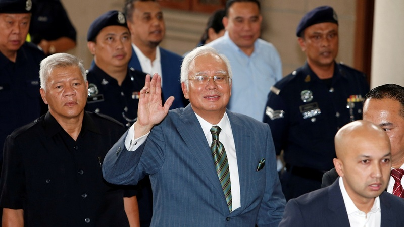 Former Malaysian PM charged with money laundering