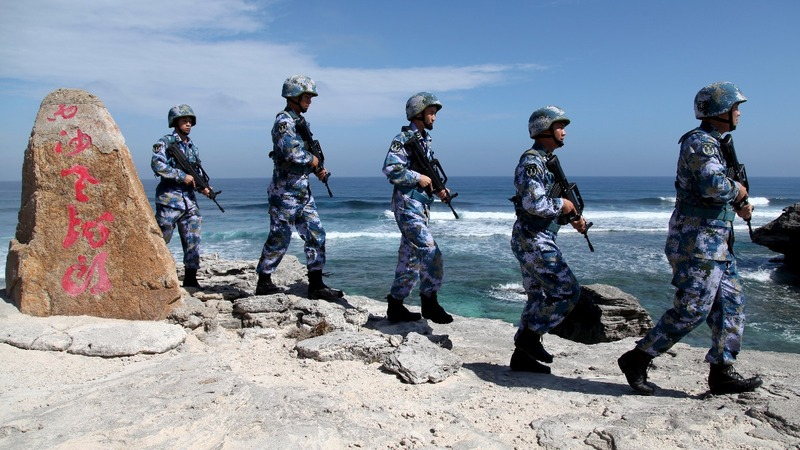 China's state firms cash in on South China Sea