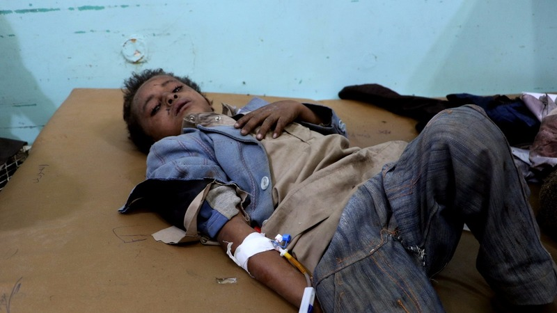 Kids on bus among dozens killed in Yemen strike
