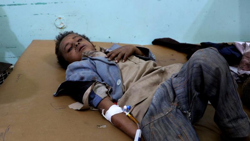 Kids on bus among dozens killed in Yemen strike
