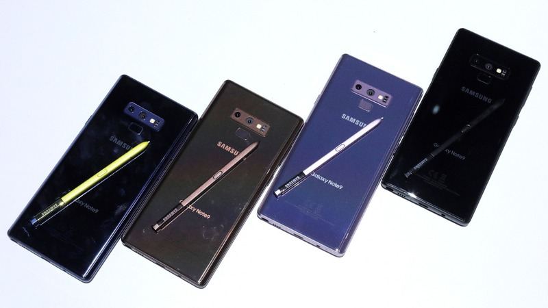 Samsung pivots toward gamers with new Note 9