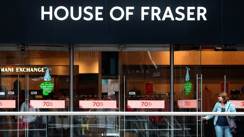Retail downturn hits UK's House of Fraser chain