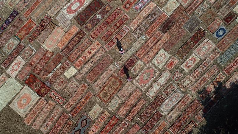 INSIGHT: Turkish farmers bleach carpets in the sun
