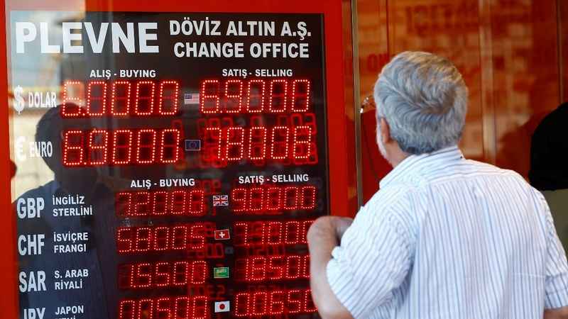 Turkey's turmoil drags down emerging markets