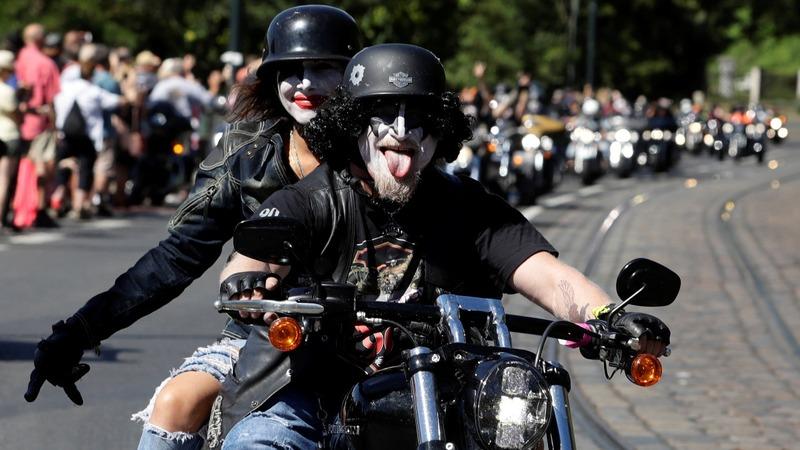Harley Davidson stock slips as Trump takes a jab