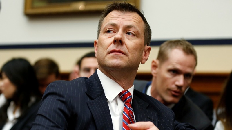 FBI agent Strzok fired for anti-Trump texts