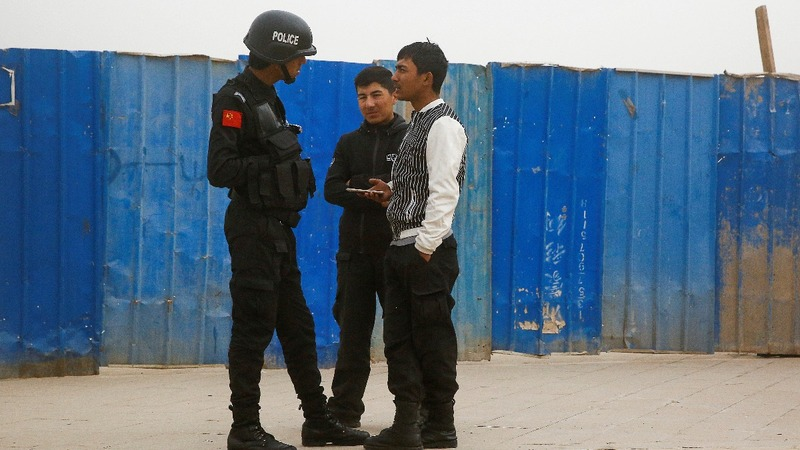 U.N. claims of a Xinjiang 'internment camp'