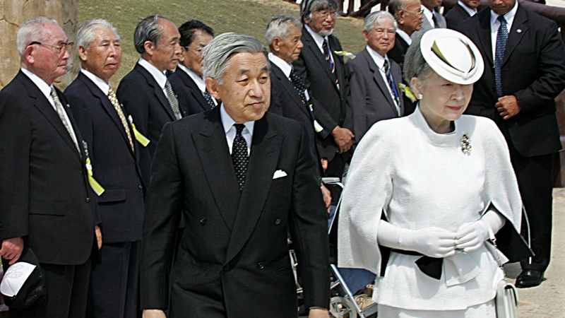 Japan emperor set to visit final war memorial
