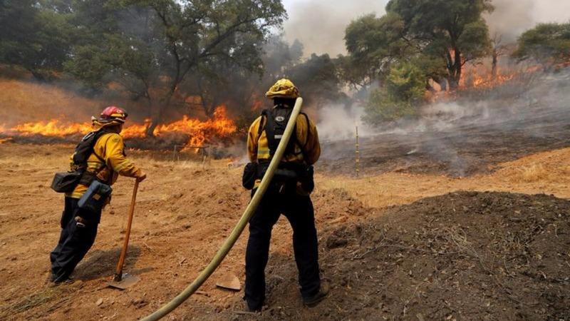VERBATIM: Firefighter killed in Mendocino blaze