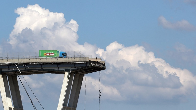 Fury after Italian bridge collapse kills 38