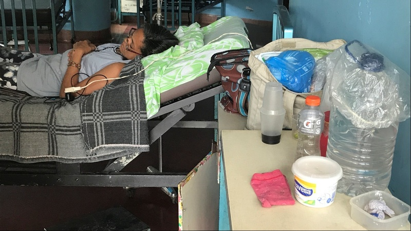 Surgeries scrapped, taps run dry in Venezuela