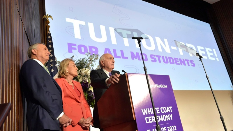 NYU offers free tuition for medical school