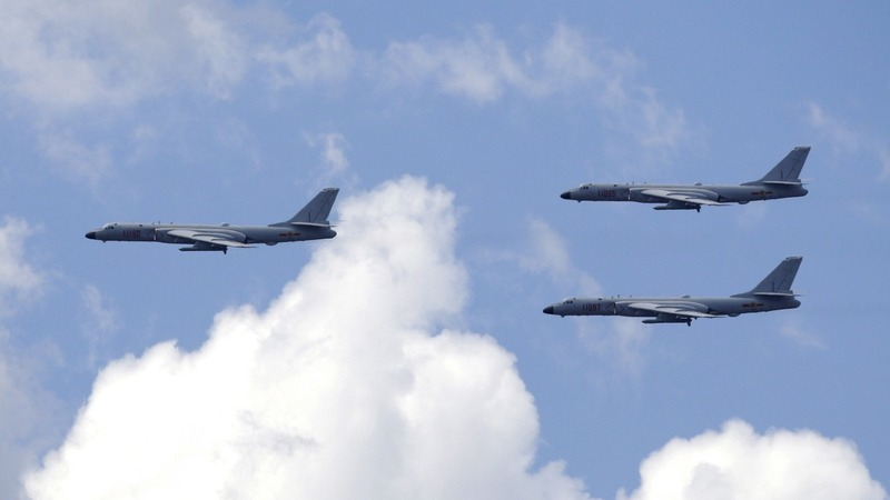 Chinese pilots 'likely' training for U.S. targets