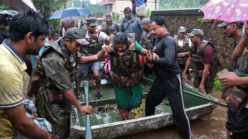 Worst flood in a century in India's Kerala kills scores