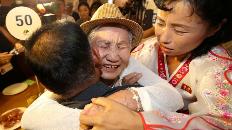 Families separated by war hold reunion in North Korea