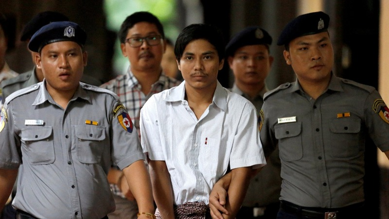 Reuters journalists to face Myanmar verdict