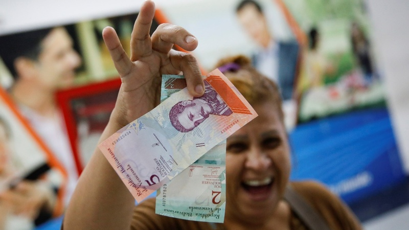 As inflation soars, Venezuela prices shed five zeros
