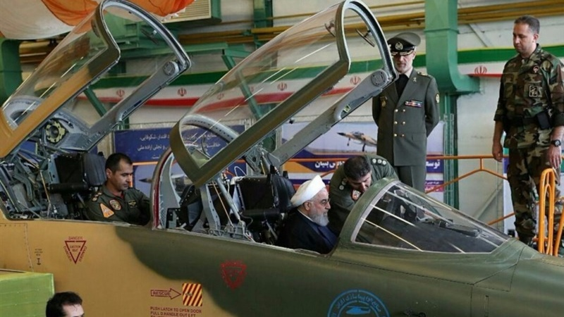 Eyeing U.S., Iran unveils new fighter jet