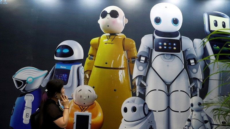 China's robot sector slumps amid trade tensions