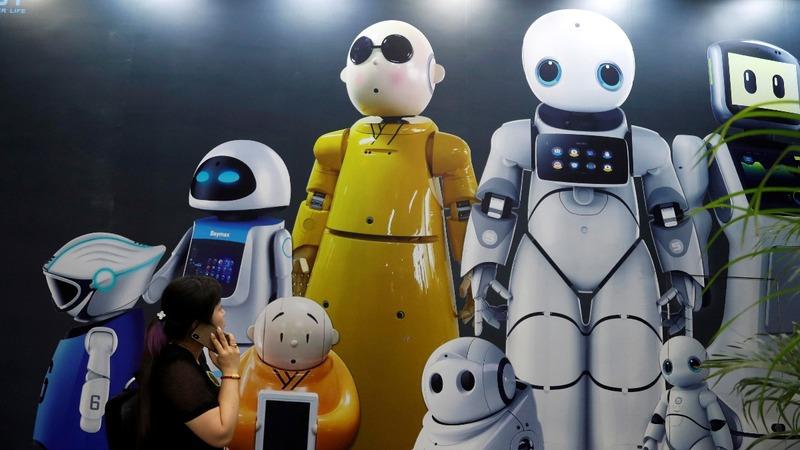 China's robot sector slumps amid trade tensions