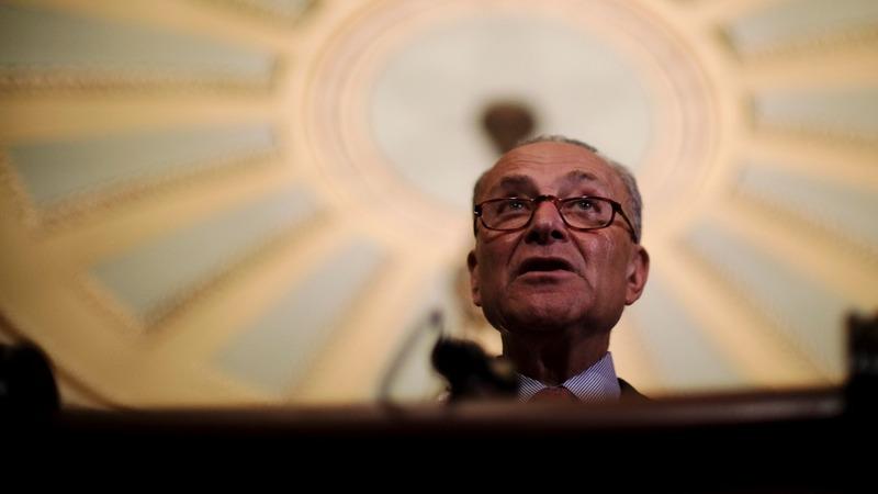 VERBATIM: Sen. Schumer warns Trump against pardons