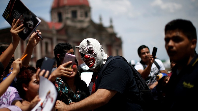 INSIGHT: Mexico's masked wrestlers embark on pilgrimage