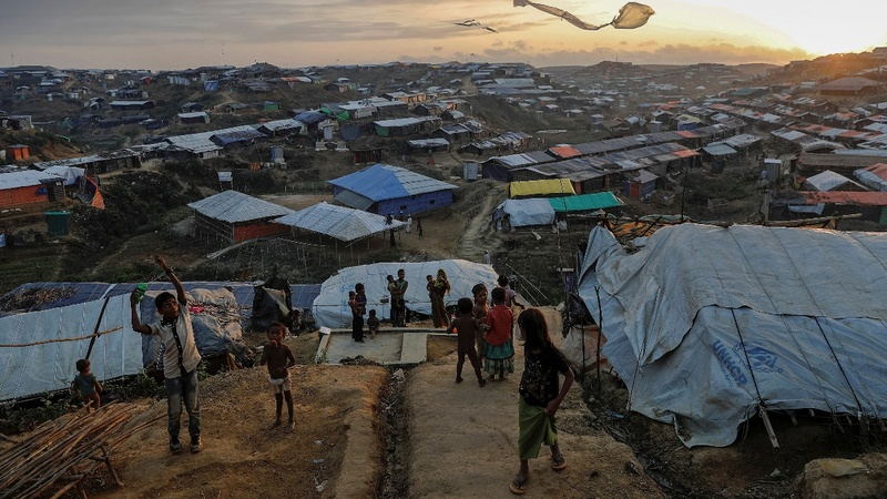 A year on, Rohingya are still fleeing Myanmar