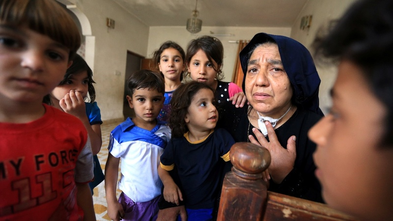 IS killed her sons, now she cares for 22 grandkids