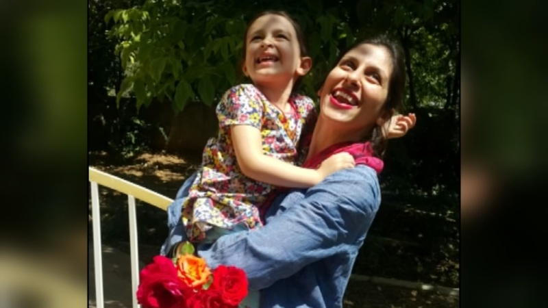 Iran grants jailed aid worker visit to daughter