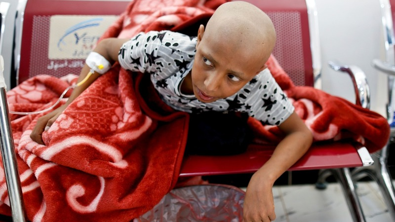 Cancer patients - the other victims of Yemen's war