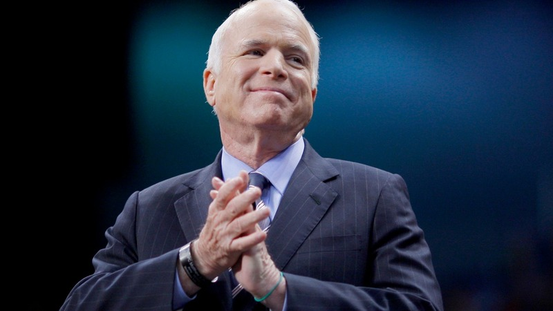 John McCain, war hero and 'maverick' senator, dies at 81
