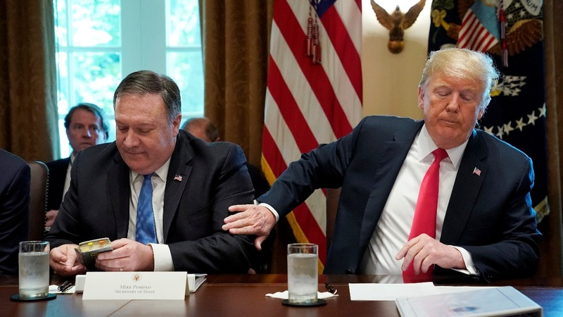 Trump calls off Pompeo's planned trip to North Korea