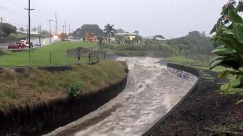 Tropical storm Lane threatens more Hawaii floods