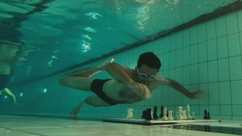 INSIGHT: Aquatic chess leaves players breathless