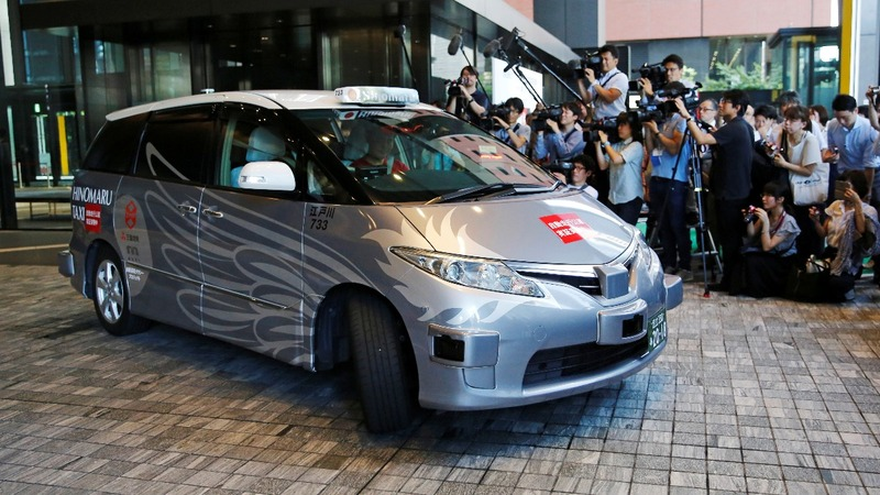 Japan trials 'robot taxi' ahead of 2020 Olympics