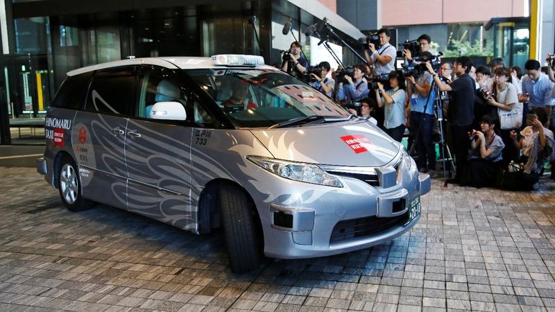 Japan trials 'robot taxi' ahead of 2020 Olympics