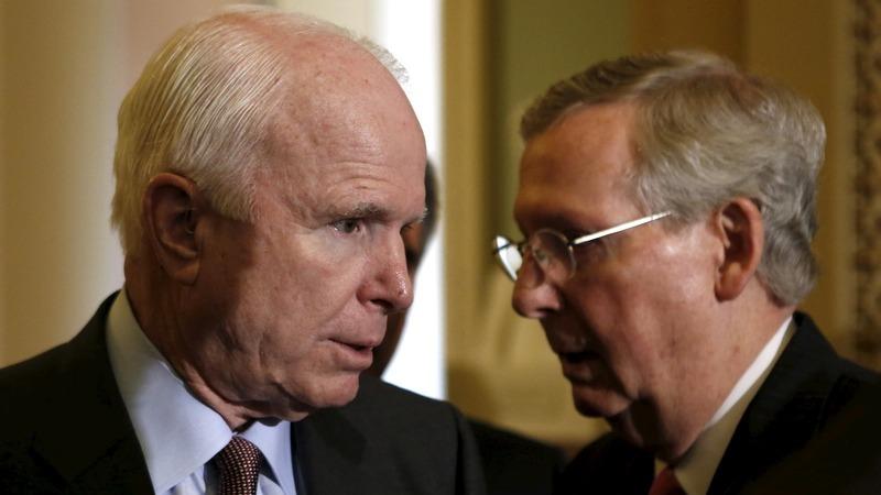 VERBATIM: Senate pays tribute to McCain
