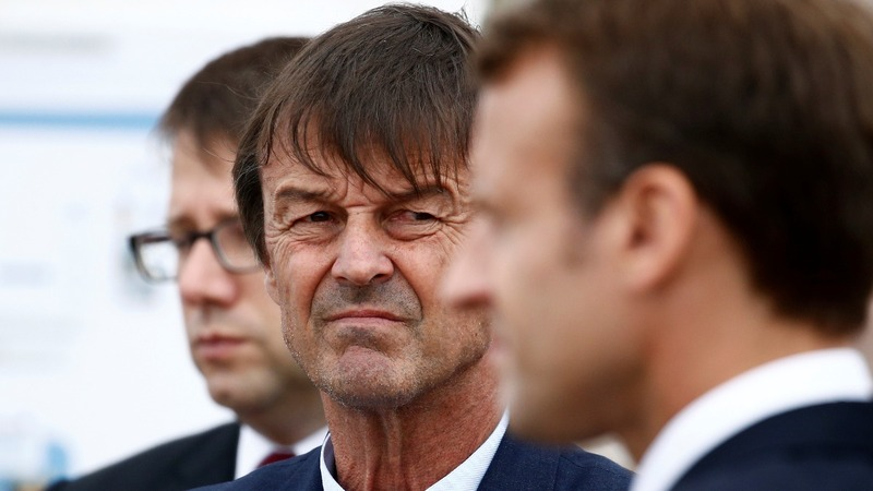 Blow for Macron as popular minister quits on-air