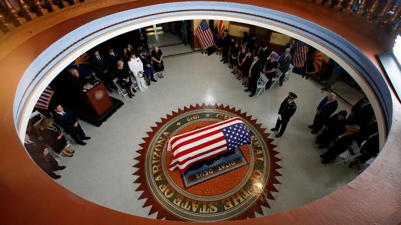INSIGHT: Final farewells to McCain at Arizona Capitol