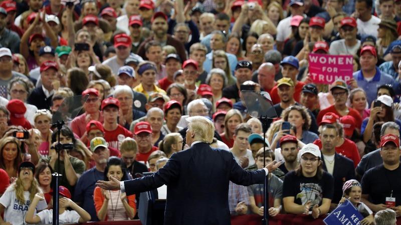 VERBATIM: Trump blasts DOJ at Indiana rally