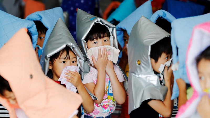INSIGHT: Japanese schools hold earthquake drills