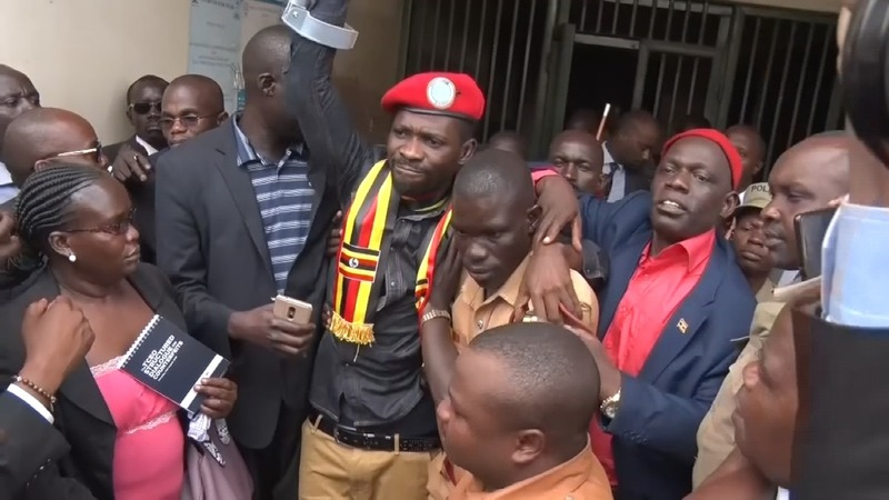Ugandan pop star turned politician re-arrested